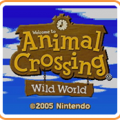 Animal Crossing: Wild World Game